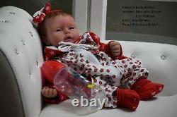 Silicone baby doll full body Alma reborn sweet chocolates layaway avaliable