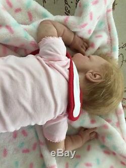 Small Miracle Awake Silicone Baby By Tina Kewy. HTF