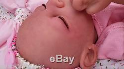 Soft Silicone Vinyl Bi Racial Ethnic Reborn Baby Doll Marissa May& Sunbeambabies