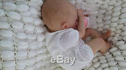 Soft Silicone Vinyl Sunbeambabies, Marissa Mae, Precious Violet Reborn Baby Girl