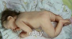 Soft silicone full body baby boy Simon #1 eco-flex 00-30+00-10