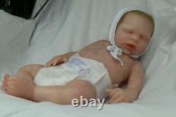 Soft silicone full body baby boy Simon #4 eco-flex 00-30+00-10