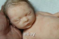 Soft silicone full body baby girl doll