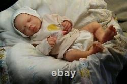 Soft silicone full body baby girl doll Cate 2