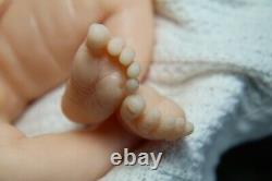 Soft silicone full body baby girl doll Cate 3 unpainted
