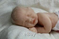 Soft silicone full body baby girl doll Zlata # 5