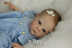 Sold Out Limited Edition 853/1000 Baby Girl Reborn Saoirse Bonnie Brown Amazing