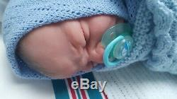 Solid Silicone Reborn full bodied Baby By Linda Moore