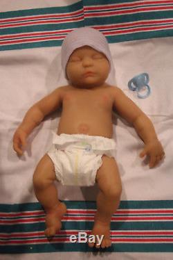 Solid full silicone reborn baby 19 BOY anatomically correct custom made 4u