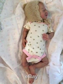 Solid silicone full body newborn baby girl doll