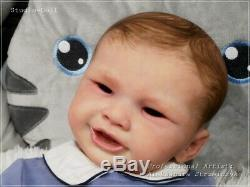 Studio-Doll Baby Reborn BOY LIL SMILE by PHILL DONNELLY limit. Edit so real