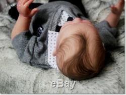 Studio-Doll Baby Reborn BOY VICKY by MENNA HARTOD like real baby