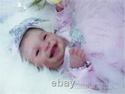 Studio-Doll Baby Reborn GIRL AUTUMN by PING LAU so real BABY 19 INCH full body