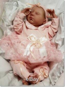 Studio-Doll Baby Reborn GIRL DEIDRE by Adrie Stoete so real