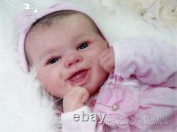 Studio-Doll Baby Reborn GIRL JEWELS by SANDY FABER like real baby