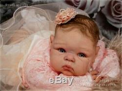 Studio-Doll Baby Reborn GIRL PARIS by ADRIE STOETE 22 inch so real