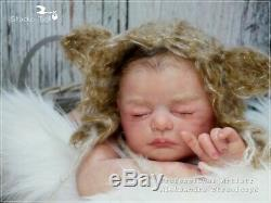 Studio-Doll Baby Reborn Girl Elea by HEIKE kOLPIN limited edition so real