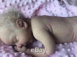 Stunning Soft Ecoflex Silicone Reborn Full Body Baby Girl