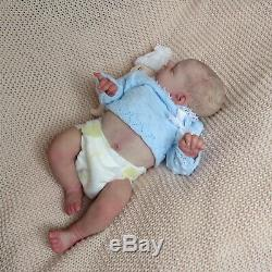 Stunning sleeping girl baby Harriet, small limited edition by AK Kitagawa