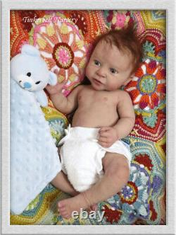 TINKERBELL NURSERY Helen Jalland Reborn Baby Complete solid Ecoflex 20 silicone