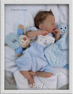 TINKERBELL NURSERY Helen Jalland Reborn Newborn Baby SOLID SILICONE HEAD/LIMBS