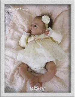 TINKERBELL NURSERY Helen Jalland Reborn SOLID SILICONE HEAD & LIMBS BABY DOLL