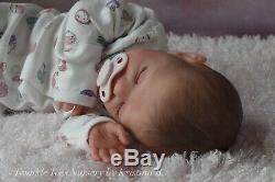 TWINKLE TOES NURSERY Realistic Reborn Baby Girl Elise by Karola Wegerich
