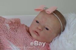 TWINKLE TOES NURSERY Realistic Reborn Baby Girl'Wendy' by Wendy Dickison