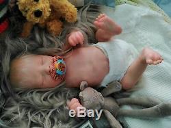 Tracyslittletreasures REALBORN Darren preemie 17 anatomically correct Boy