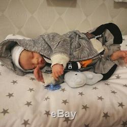 Twin B PREEMIE reborn baby by Bonnie Brown