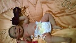 ULTRA REALISTIC IMPOSIBLE Harper Sydney Full Body Platinum Silicone Babyclon