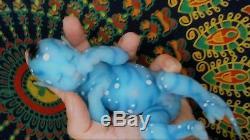 ULTRA REALISTIC Reborn baby Mini NAVI full body platinum silicone BARGAIN
