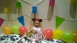 ULTRA REALISTIC Toddler Clara Rose Prototype 1 by Regina Swialkowski HERSELF