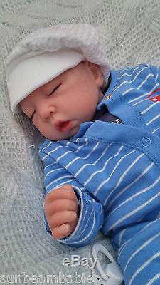 Very Low Stock Child Friendly New Reborn Baby Boy Doll Soft Silicone Vinyl