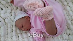 Very Low Stock Childs Reborn Baby Doll With Gift Bag & Empty Formula Bottle