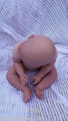 Very Low Stock Soft Silicone Vinyl Blemished Childs Reborn Baby Doll