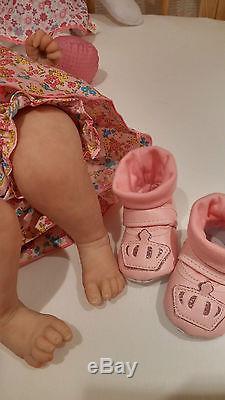 Wendy Dickison Sunbeambabies Lifelike Reborn Doll Baby Girl Soft Silicone Vinyl