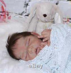 Wynter By Sylvia Manning Partial Silicone reborn doll/baby